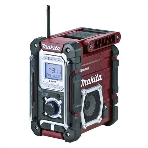 Makita DMR108AR 7.2V-18V CXT LXT Li-ion Bluetooth akkus rádió bordó (akku és töltő nélkül)