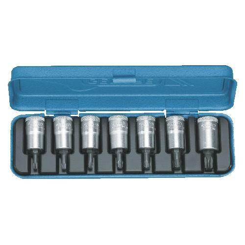 Gedore torx dugókulcs készlet 3/8'' 7 részes belső TORX T20-50 (ITX 30 PM)