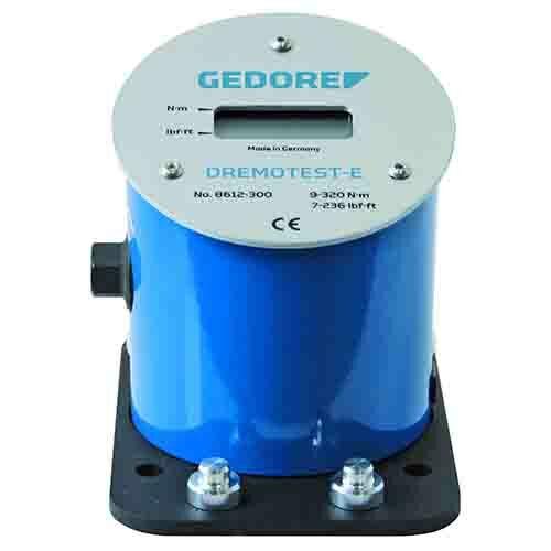 Gedore elektronikus nyomatékkulcs vizsgáló készülék DREMOTEST E 0.9-55 Nm (8612-050)