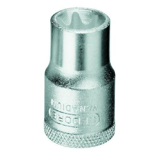 Gedore torx dugókulcs betét 1/2'' külső TORX E18 (TX 19 E18)