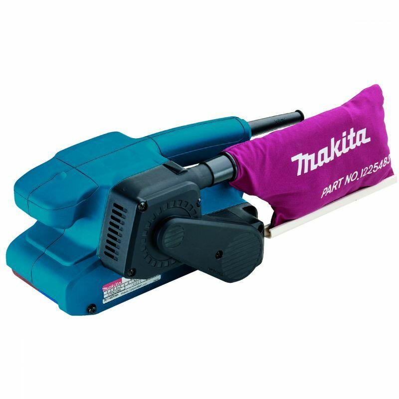 Makita 9911 650W 76x457 szalagcsiszoló, ford.