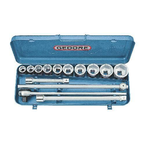Gedore dugókulcs készlet 3/4'' 14-részes, 6-lapú 22-50 mm (32 EMZ)