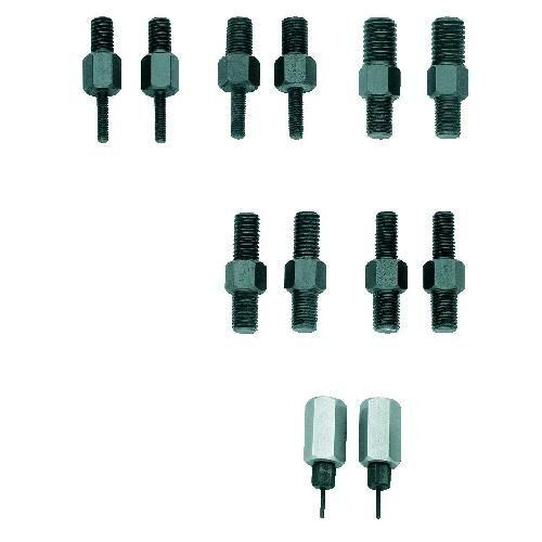Gedore menetes illesztő adapter készlet 1 és 2 furatos alkalmazásokhoz, M10 (1.81/10)
