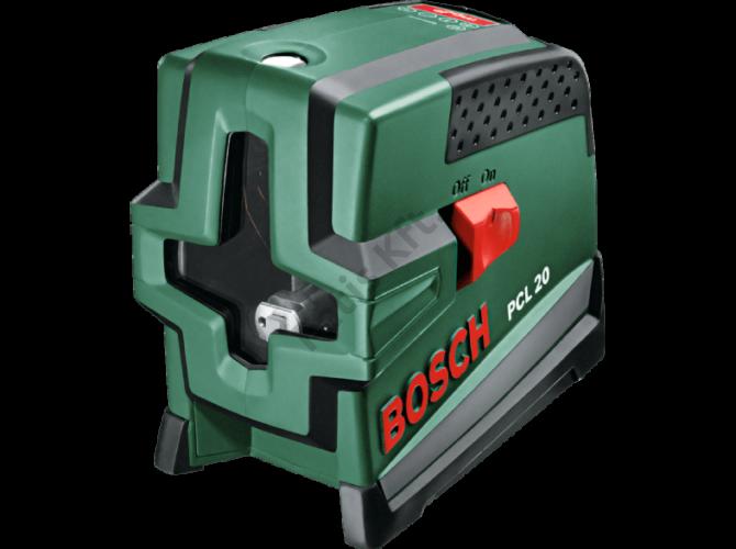 Bosch PCL 20 szintezőlézer+ választható ajándék