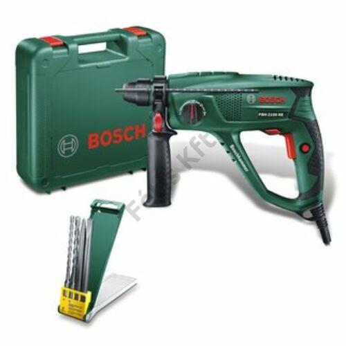 Bosch PBH 2100 RE fúrókalapács + 2 fúró + 2 vésőszár (PBH Universal)