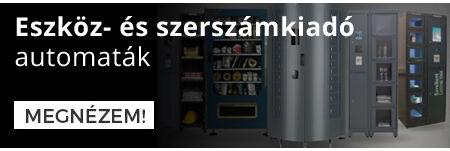 Eszköz- és szerszámkiadó automaták