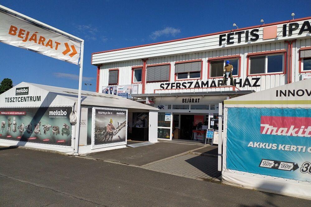 Fétis M3 szerszámáruház Budapest