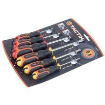 Tactix csavarhúzó készlet 6 részes PH+lapos