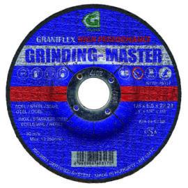 Gránit csiszolókorong 125x6.5x22.23 62A24S7BF 80 (Grinding-Master)