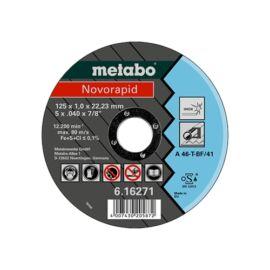 Metabo Novorapid vágókorong125x1.0x22.23Inox