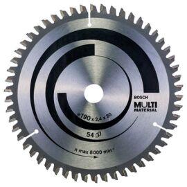 Bosch körfűrészlap MultiMaterial 216x2.5x30 mm  Z60