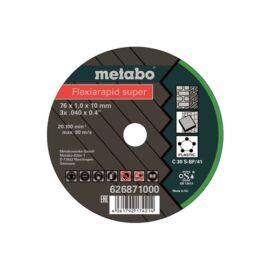 Metabo vágókorong Flexiarapid Super 76x1.0x10.0 mm Universal 5 db