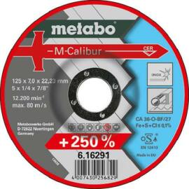 Metabo csiszolókorong M-Calibur 125x7.0x22.23 mm