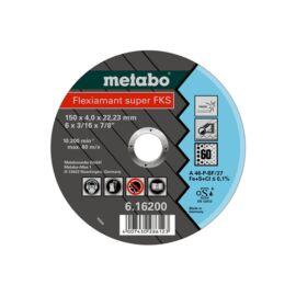 Metabo csiszolókorong Flexiamant Super FKS 60, 150x4.0x22.23 Inox, SF 27