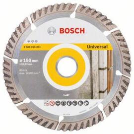 Bosch vágókorong, gyémánt 150mm