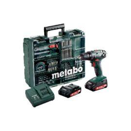 Metabo BS 18 Set Mobil műhely (2x18V/2.0 Ah koffer)
