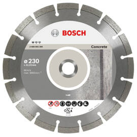 Bosch vágókorong, gyémánt 230 BPE