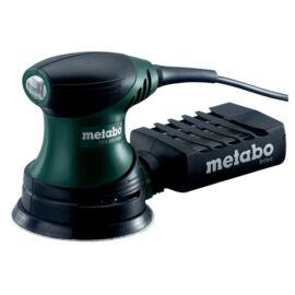 Metabo FSX 200 Intec excentercsiszoló+20 db 125 mm-es tépőzáras csiszolópapírkészlet nettó 4000 Ft értékben T