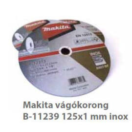 Makita Vágókorong INOX 125x1mm