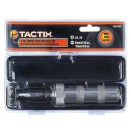 Tactix ütvecsavarhúzó készlet 4 részes
