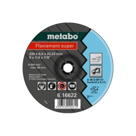Metabo csiszolókorong Flexiamant super 180x6.0x22.23 Inox, SF 27