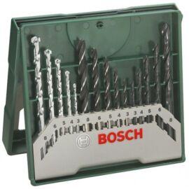 Bosch mini X-Line csigafúró készlet 3-8 mm 15 részes