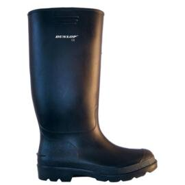 DUNLOP PRICEMASTOR 380pp fekete PVC csizma 45