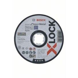 Bosch vágókorong, egyenes 125x1 X-Lock INOX