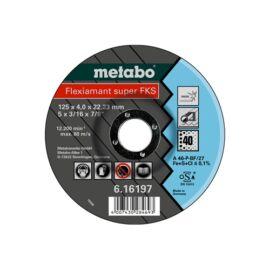 Metabo csiszolókorong Flexiamant Super FKS 40, 125x4.0x22.23 Inox, SF 27