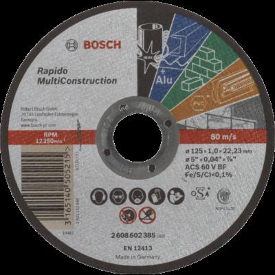 BOSCH ACS 60 V BF Rapido 125mm