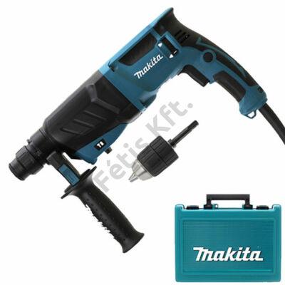 Makita HR2630X7 fúrókalapács + SDS PLUS gyorstokmány + választható ajándék