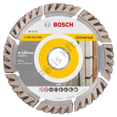 Bosch gyémánttárcsa 125 mm UPE