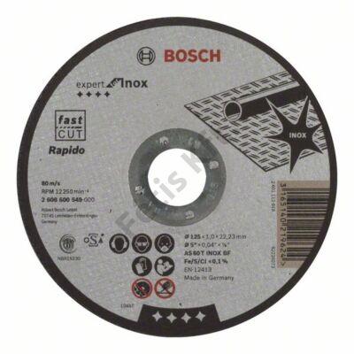 Bosch Expert for Inox – Rapido vágókorong 125x1.0
