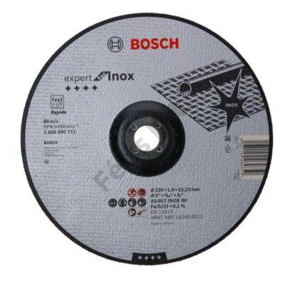 Bosch Expert for Inox – Rapido vágókorong 230x1,9 hajlított