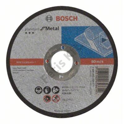 Bosch Standard for Metal vágókorong 115x2.5 fém egyenes