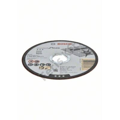 Bosch Standard for Inox – Rapido vágókorong 115x1 egyenes