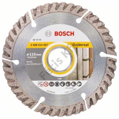 Bosch Standard for Universal gyémánt vágókorong 115x22,23 UPE