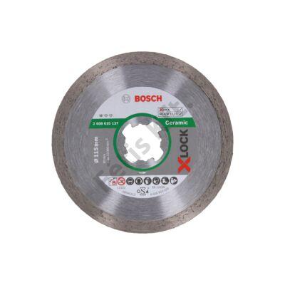 Bosch Standard for Ceramic X-LOCK vágókorong, gyémánt 115 csempe