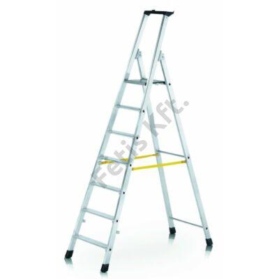 Zarges Nova egy oldalon járható peremezett lépcsős állólétra 1x5 (Z300)