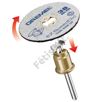 DREMEL® EZ SpeedClic™: Fémvágó korongok, 5-ös csomag.