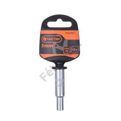 Tactix dugókulcs 1/4'' hosszú 8 mm