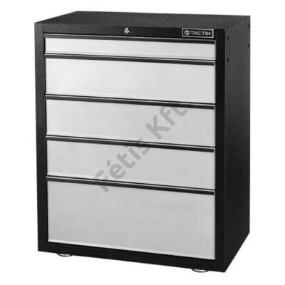 Tactix szerviz berendezés szekrény 5 Fiókos (93x76)