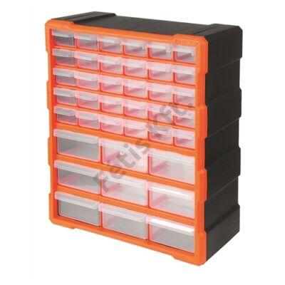 Tactix szortiment szekrény 39 fiókkal