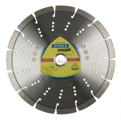Klingspor gyémánt vágókorong 115x2.4x22.23mm P DT 900 K S=Standard