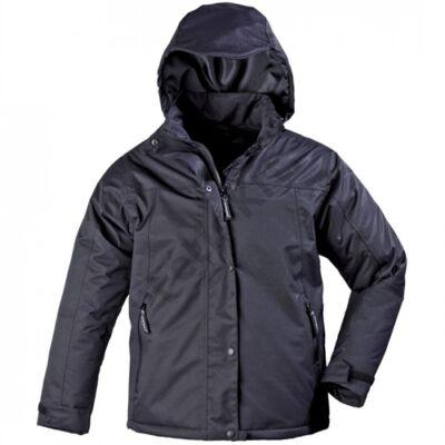 Munkavédelmi lady fekete bélelt kabát_M T