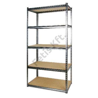 Tactix polcállvány 5 szintes 320 kg/polc 86.5x35.5x183 cm