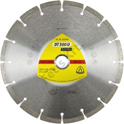 Klingspor gyémánt vágókorong 230x2.3x22.23mm P DT 300 U S=Standard