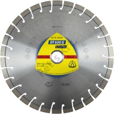 Klingspor gyémánt vágókorong 115x2.4x22.23mm P DT 600 G K=Rövid fogazás