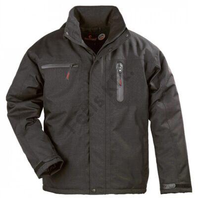 Munkavédelmi casual yang téli fekete kabát_L