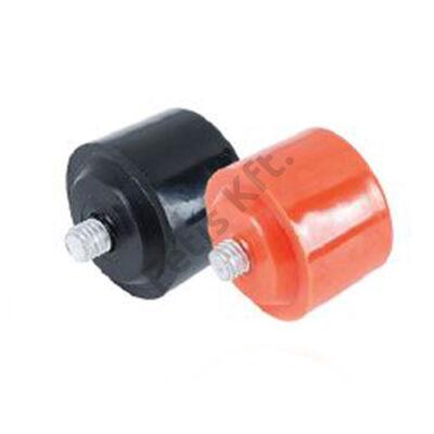 Tactix gumikalapács fej 35 mm, fekete (pót)